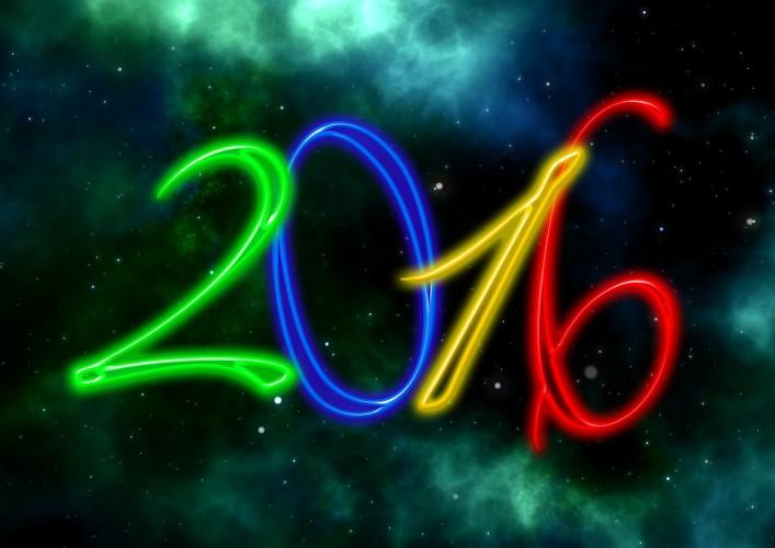 Alles Gute im Jahr 2016