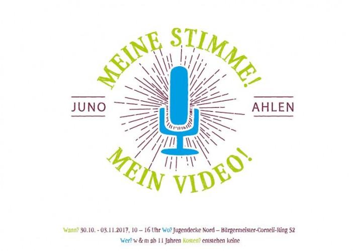 Meine Stimme mein Video 2017